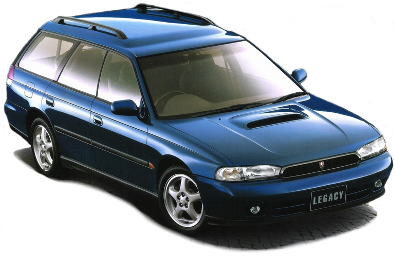 JDM Subaru Legacy Second Generation (1993-1998)