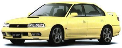 1997/8 Subaru Legacy Touring Sedan RS